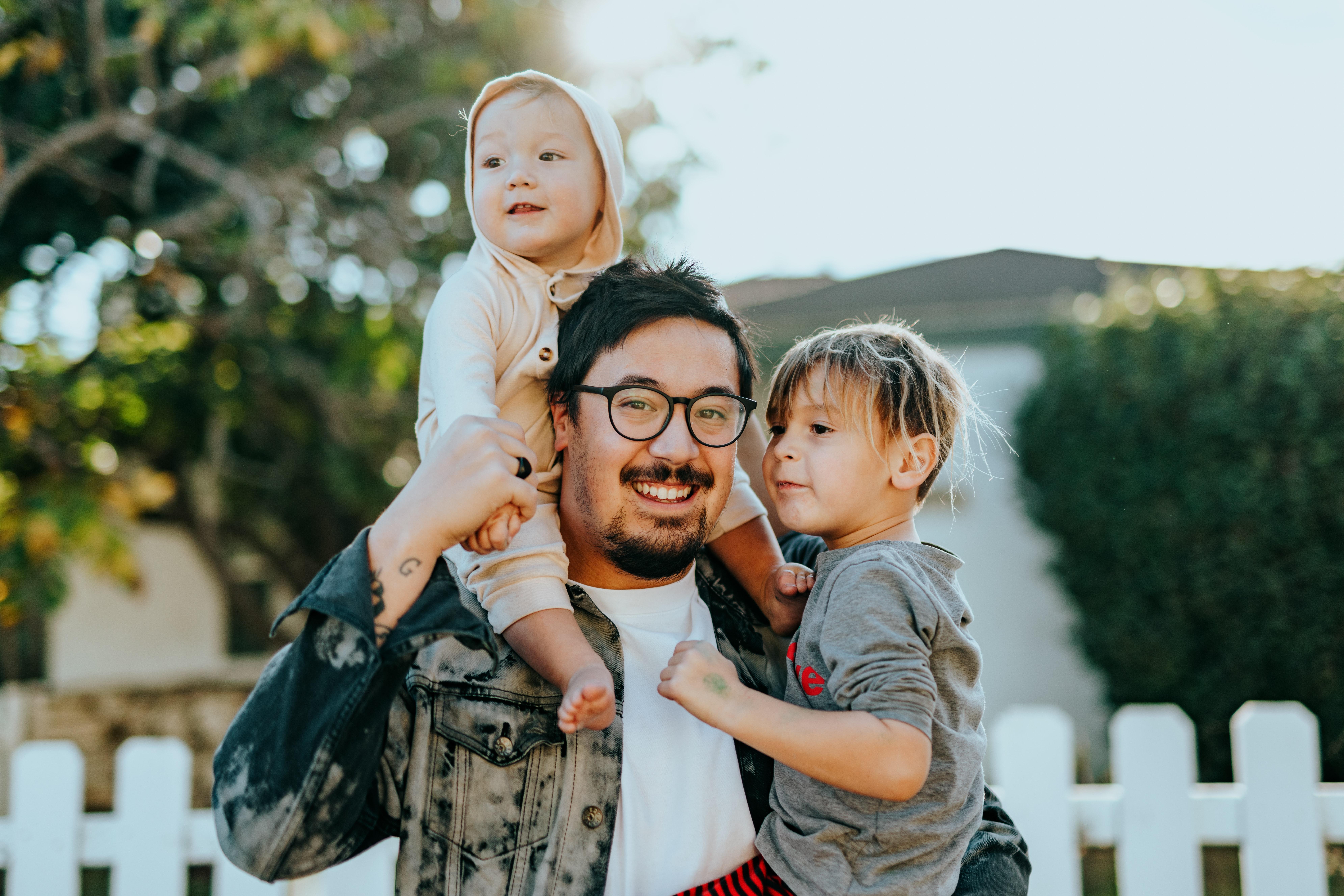 Til dig, der er nybagt far eller far to be