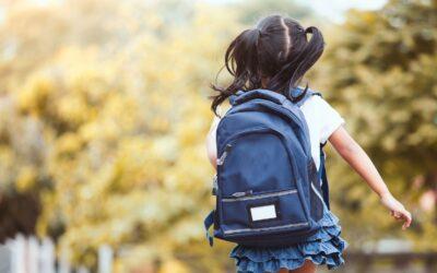 Sådan gør du klar til, at dit barn skal starte i skole